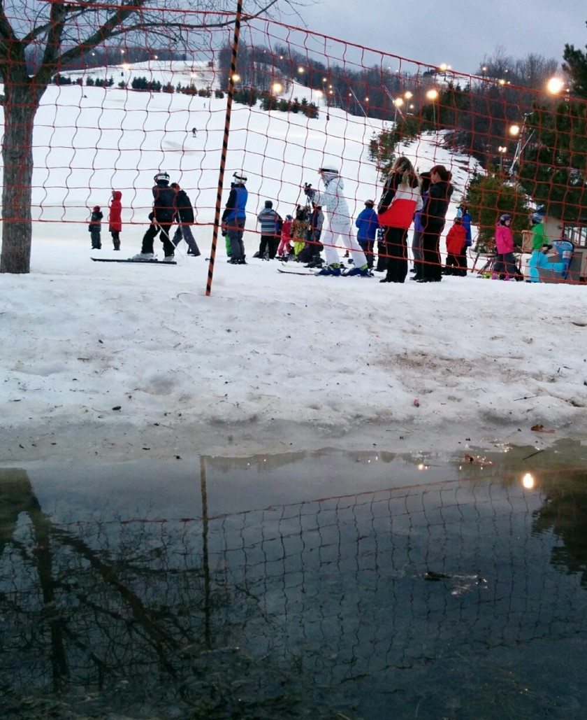 watery ski hill - Elizabeth Lavenza blog